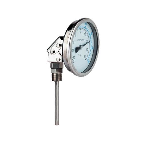 Termómetro inoxidable de Ø 100 mm. (orientable)