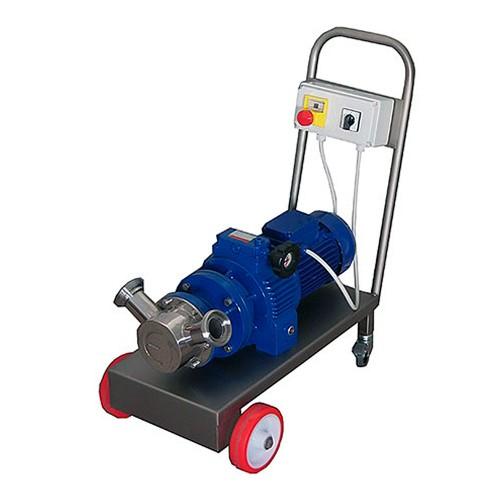 Bomba de rodete flexible con variador mecánico
