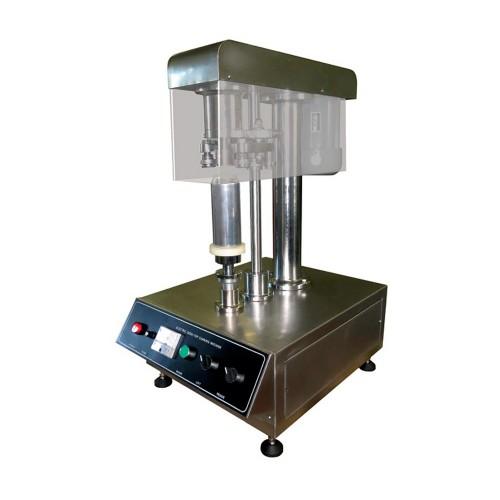 Selladora de latas semiautomática de sobremesa